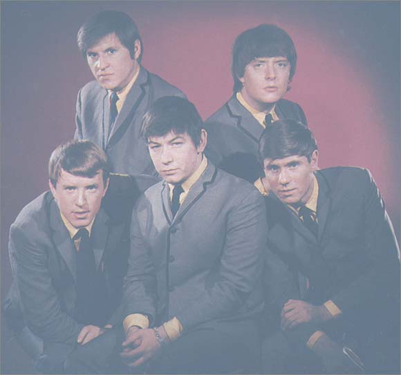 The Animals (left to right) Top row: Alan Price, Chas Chandler